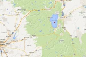 Map - Lake Tahoe