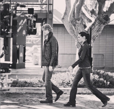 @danielaruah: #threehearts all new ep of #ncisla tonight 9pm on #cbs #kensifocussed #deekssquint
