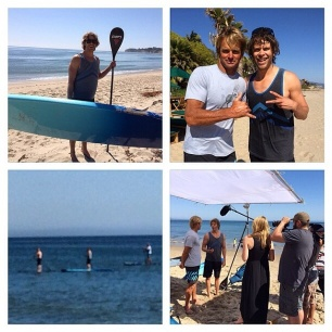 @ncisla: Tonight on ET, @ericcolsen goes paddle boarding with Laird Hamilton! Also airs on ET's weekend show!