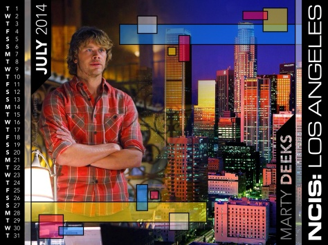 Check out our new Deeks Calendar for July by wikiDeeks Contributing Editor @DeeksFreak
