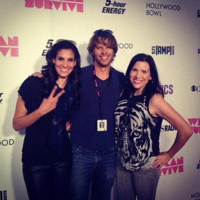 @danielaruah: Backstage about to meet @iggyazalea & ran into @michelleonamp #wcs @cbsradio