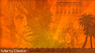 Calendar - October - 2014