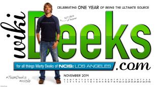 Calendar - November - 2014