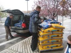 Delivering pet food