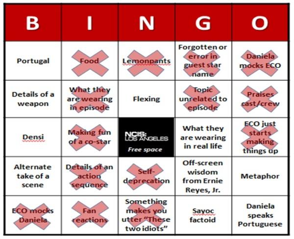 Bingo Results