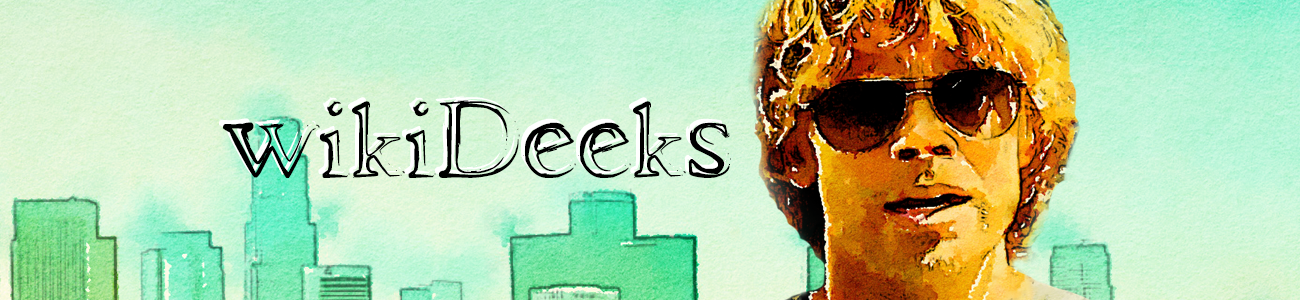 wikiDeeks | Marty Deeks | NCISLA