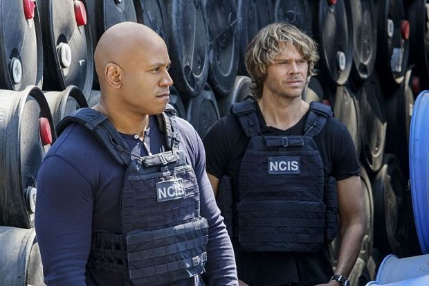 """Home Is Where the Heart Is"" -- Pictured: LL COOL J (Special Agent Sam Hanna) and Eric Christian Olsen (LAPD Liaison Marty Deeks). After a maintenance man saved the life of a Lt. Commander, the NCIS team uncovers his dark past which puts a local teenager in danger. Also, Sam must decide which colleague to take to the Los Angeles football game, on NCIS: LOS ANGELES, Sunday, Oct. 30 (8:00-9:00 PM, ET/PT), on the CBS Television Network. Photo: Erik Voake/CBS ©2016 CBS Broadcasting, Inc. All Rights Reserved."